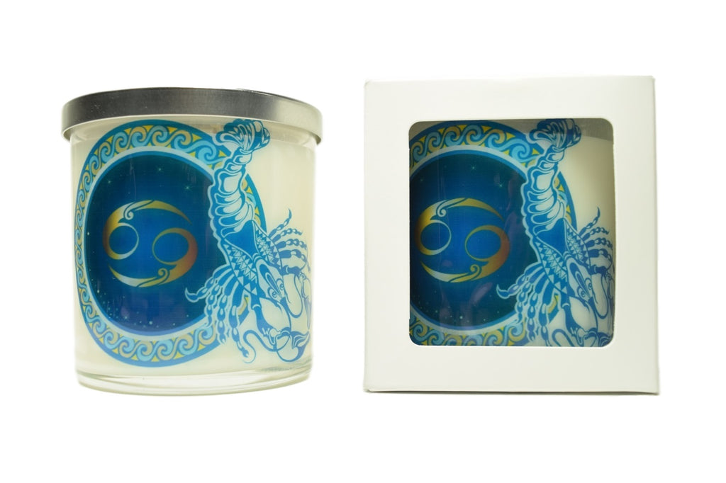 Cancer Zodiac Natural Soy Candles