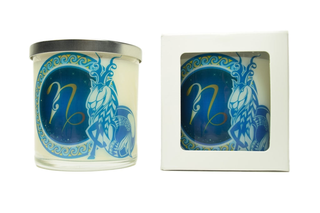 Capricorn Zodiac Natural Soy Candles