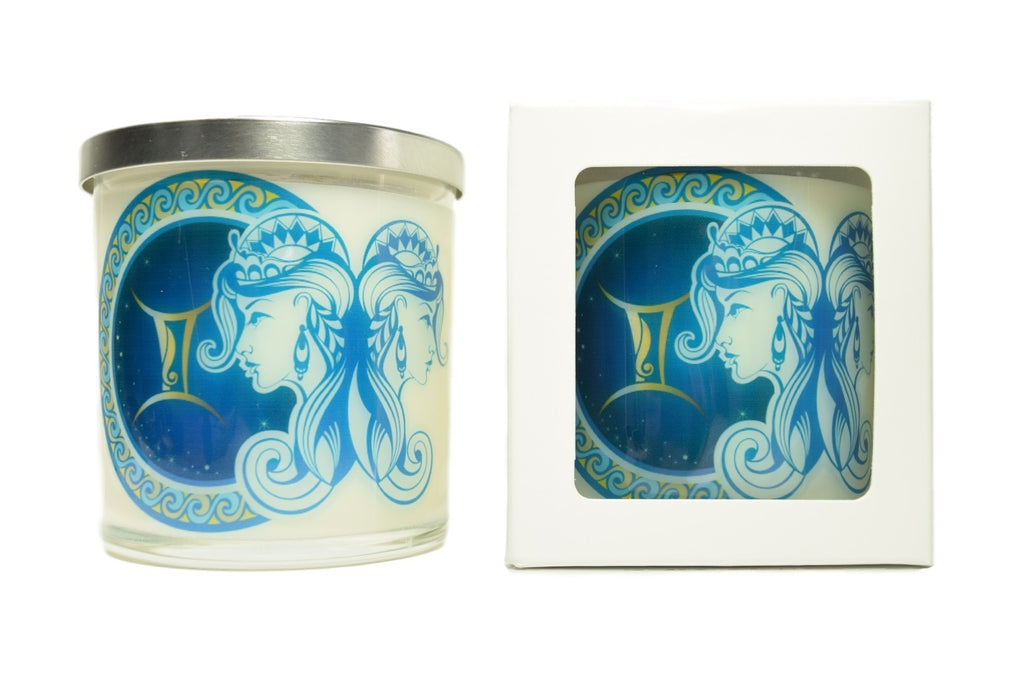 Gemini Zodiac Natural Soy Candles