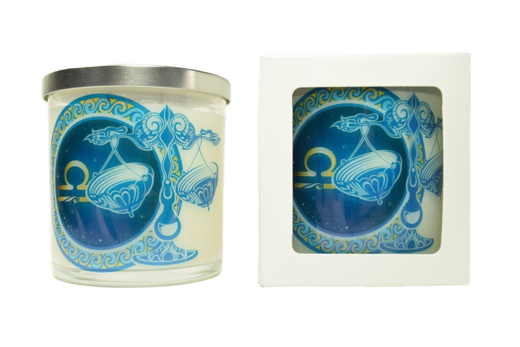 Libra Zodiac Natural Soy Candles