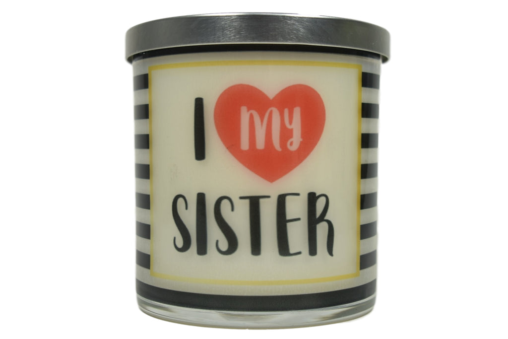 I Love My Sister Soy Candle