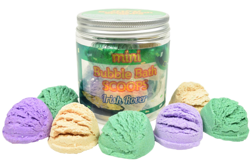 St. Patrick's Day Mini Bubble Bath Scoops