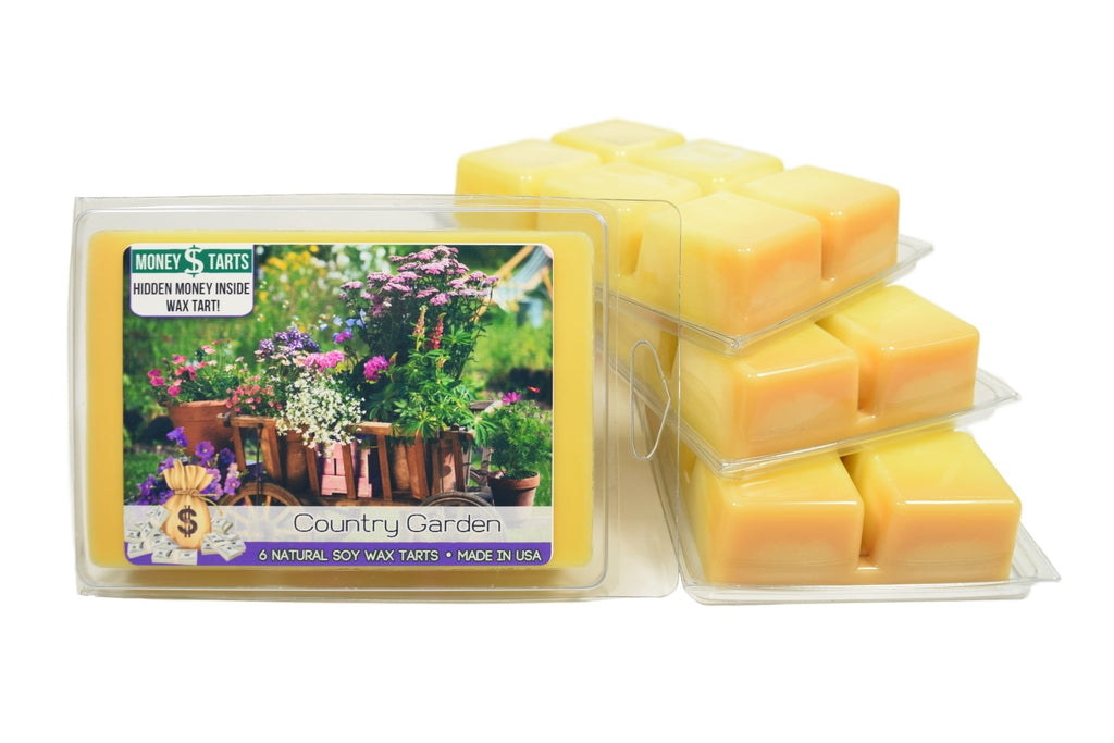 Country Garden Money Wax Tarts
