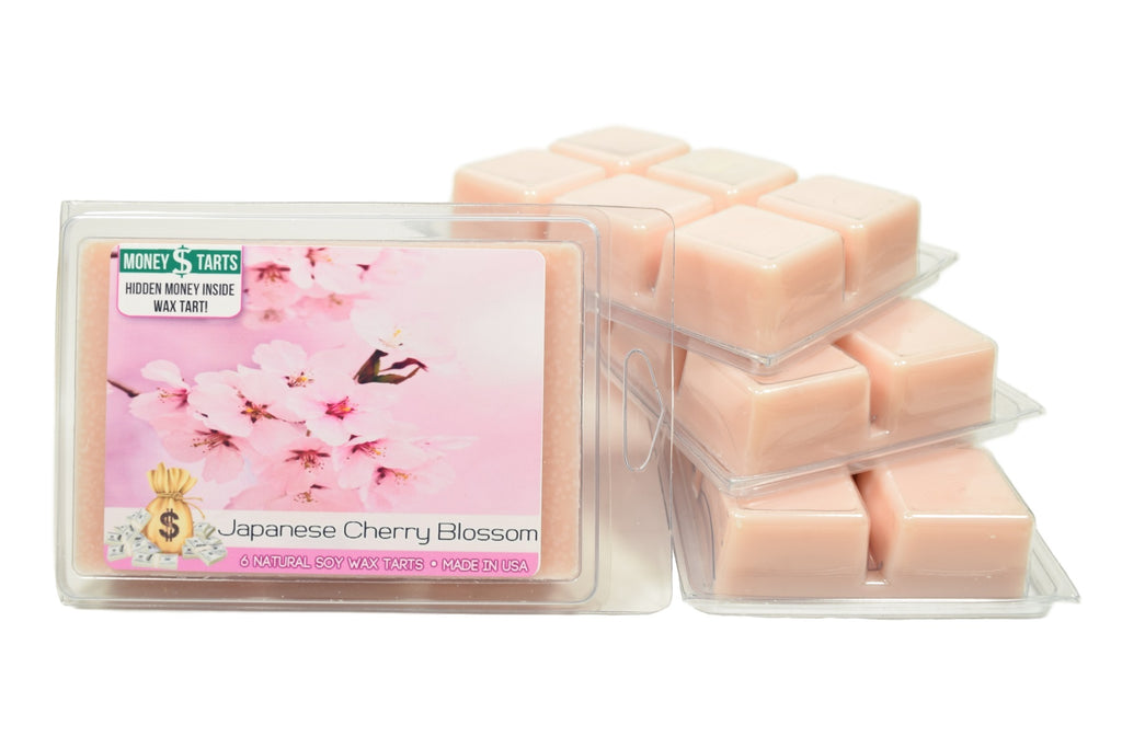 Japanese Cherry Blossom Money Wax Tarts