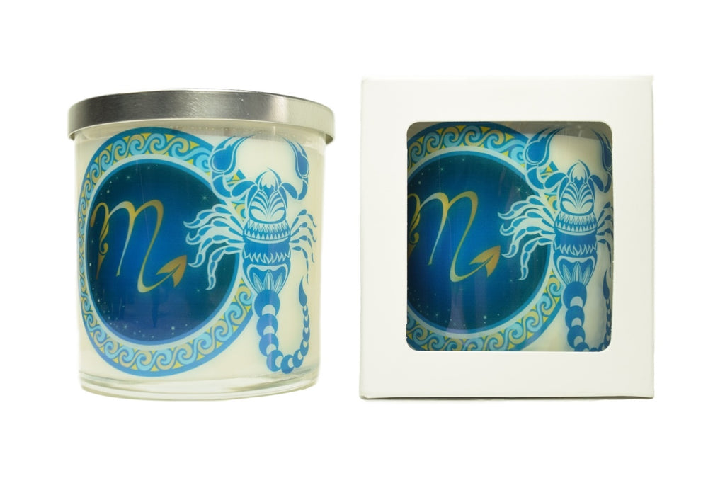 Scorpio Zodiac Natural Soy Candles
