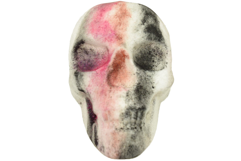 Bite Me Skull Bath Bombs with Epsom Salts