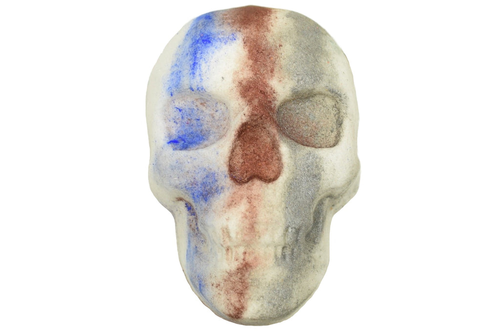 Sea Minerals Skull Bath Bombs with Epsom Salts