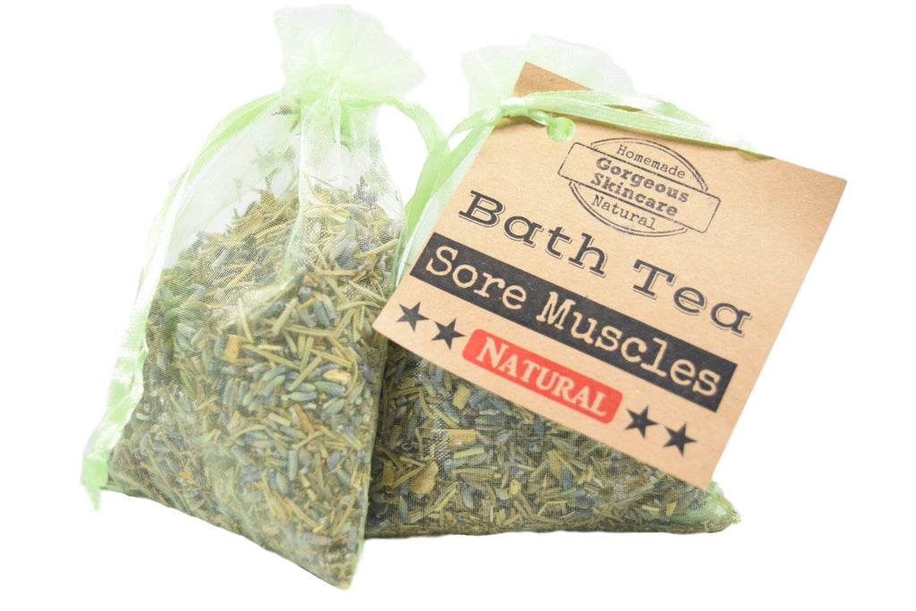 Sore Muscles Bath Tea