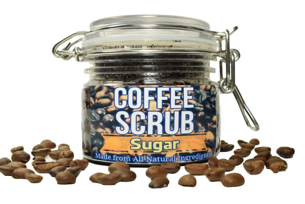 Coffee Scrub With Sugar
