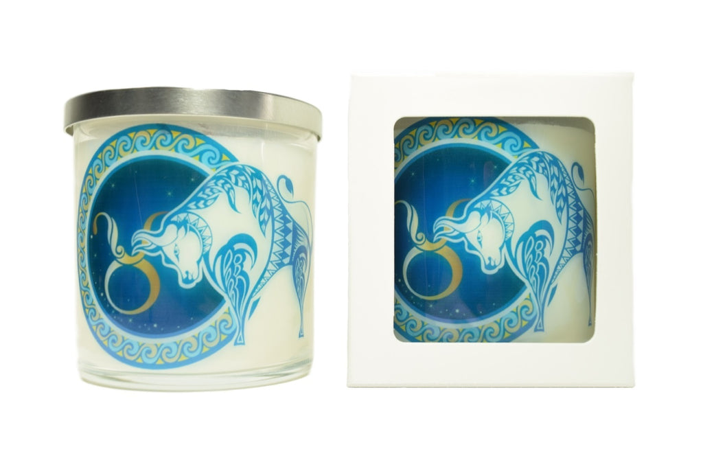 Taurus Zodiac Natural Soy Candles