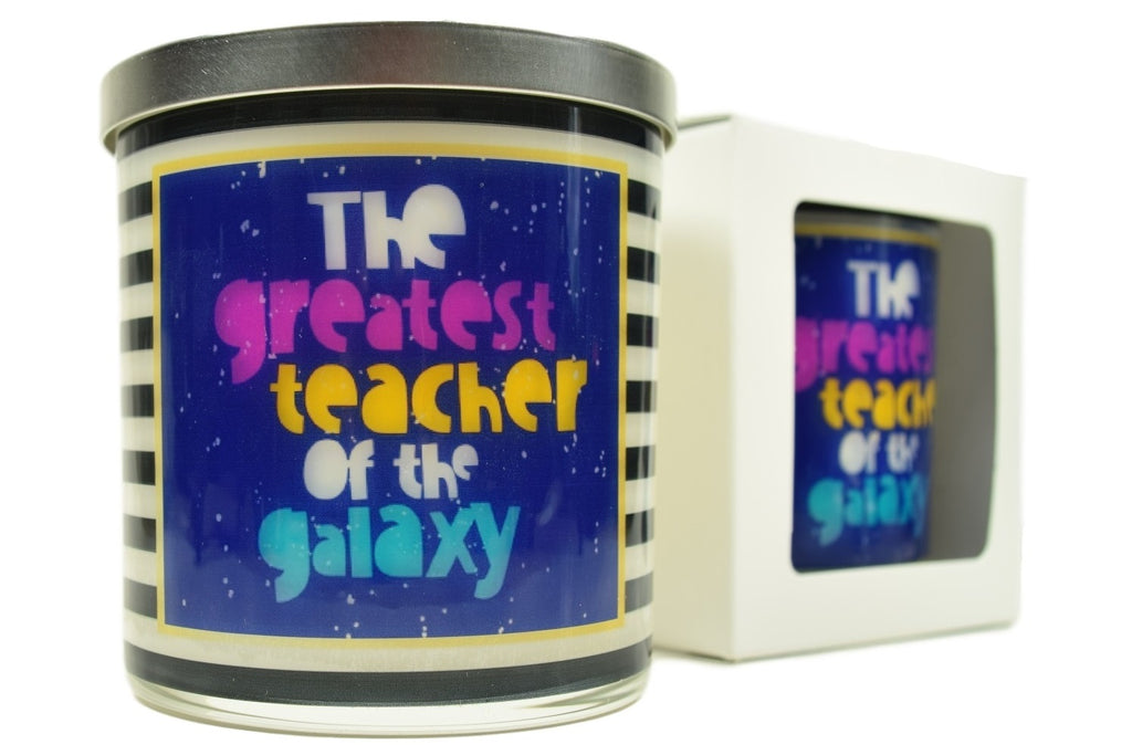 The Greatest Teacher Of The Galaxy Soy Candle