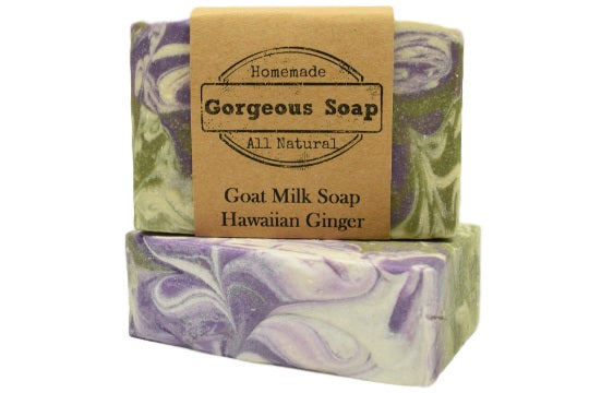 Hawaiian Ginger Goat Milk Soap