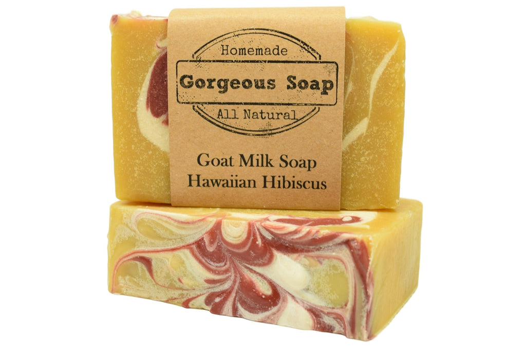 Hawaiian Hibiscus Goat Milk Soap