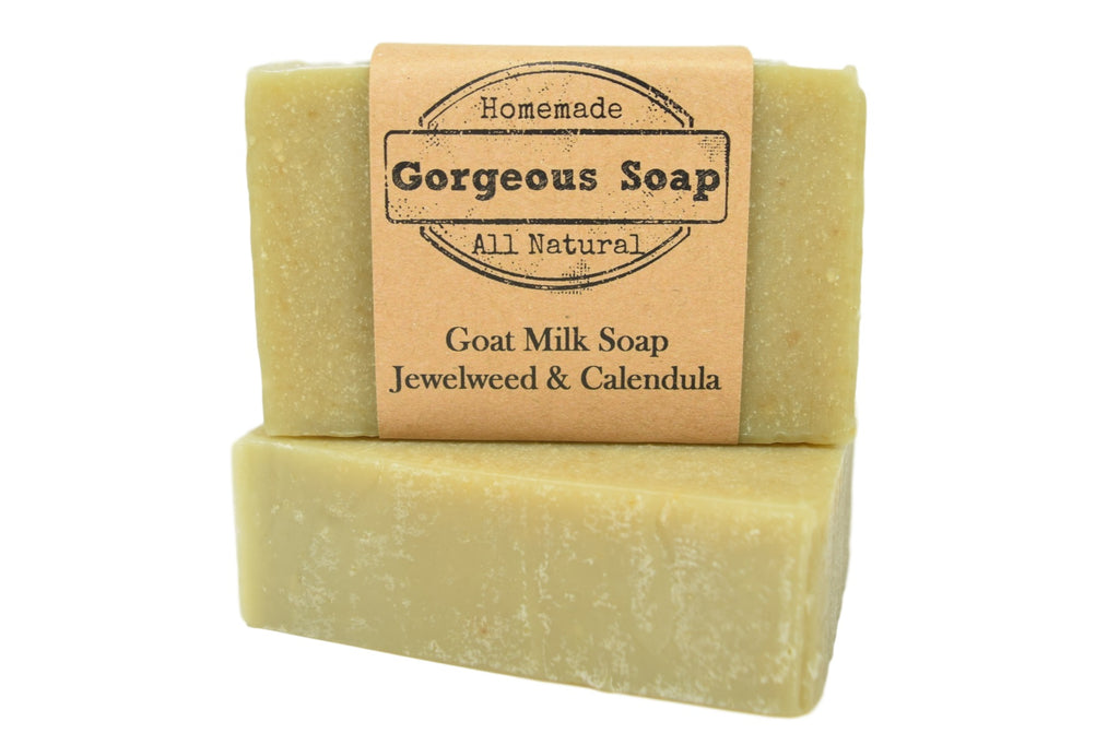Jewelweed & Calendula Goat Milk Soap