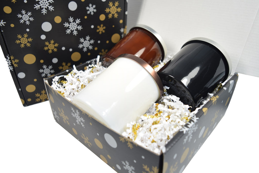 Candle Gift Box With Christmas Box