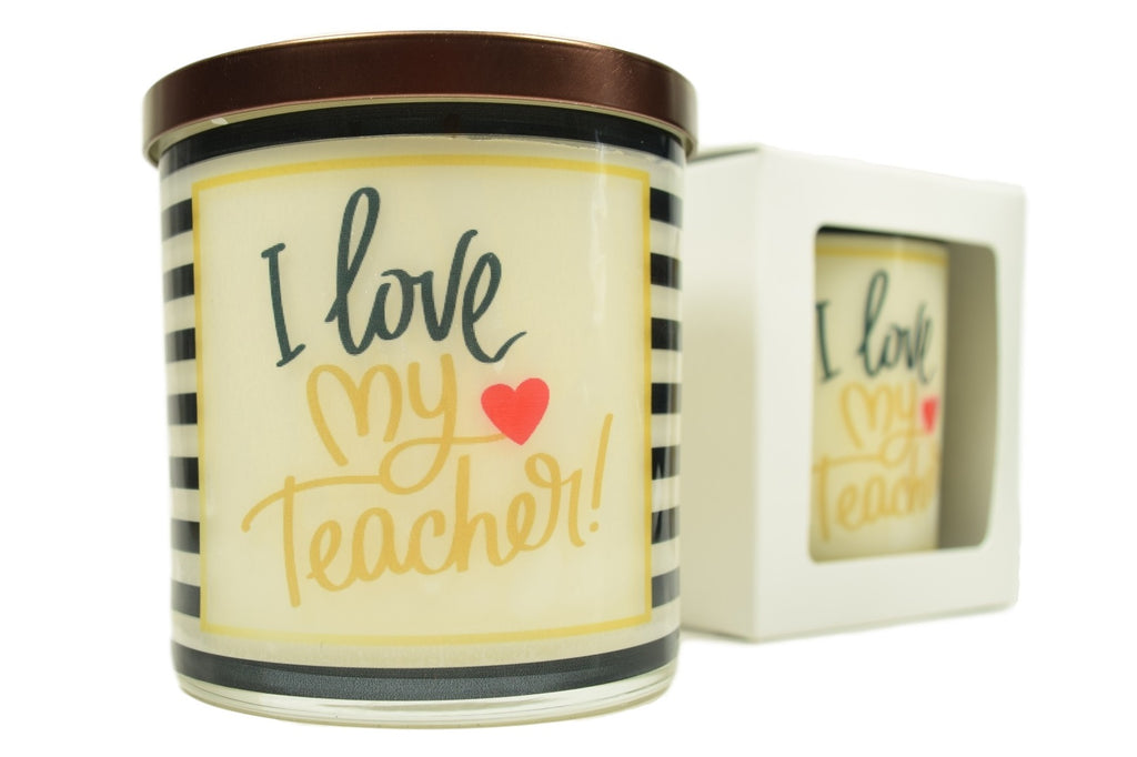 I Love My Teacher Soy Candle