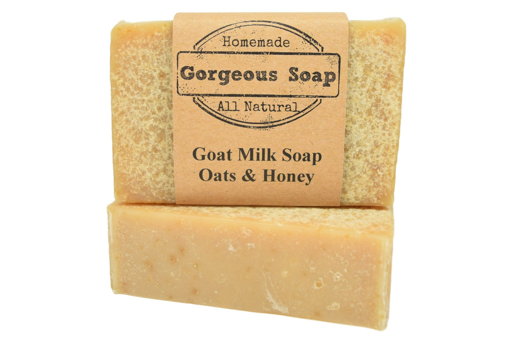 Oats & Honey Goat Milk Soap