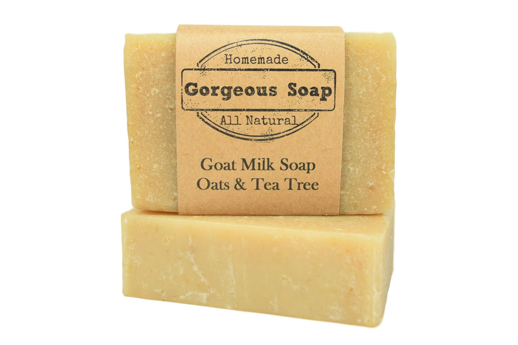 Oats & Tea Tree Goat Milk Soap