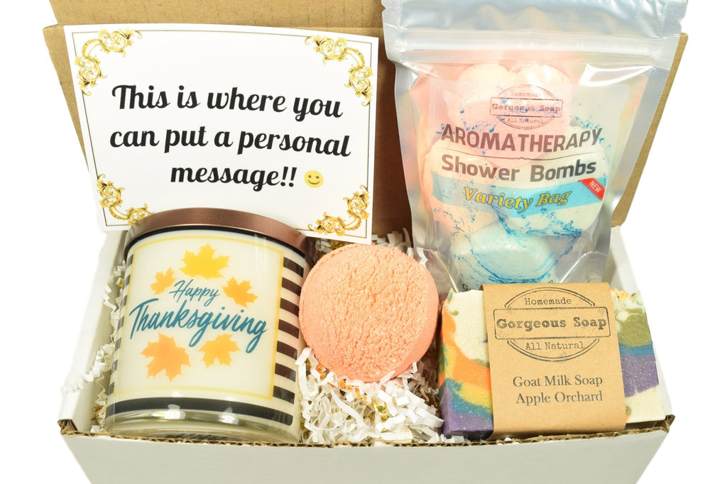 Custom Thanksgiving Gift Box