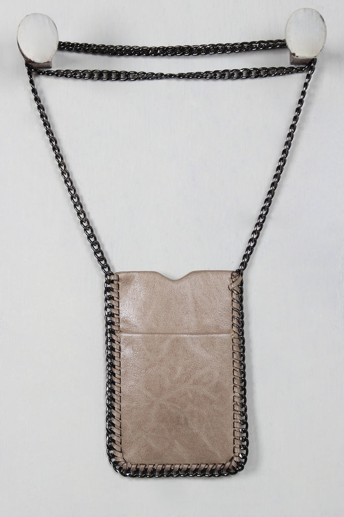 Chain Crossbody Phone Pouch, Accessories, Bags - Avenue Of Angels