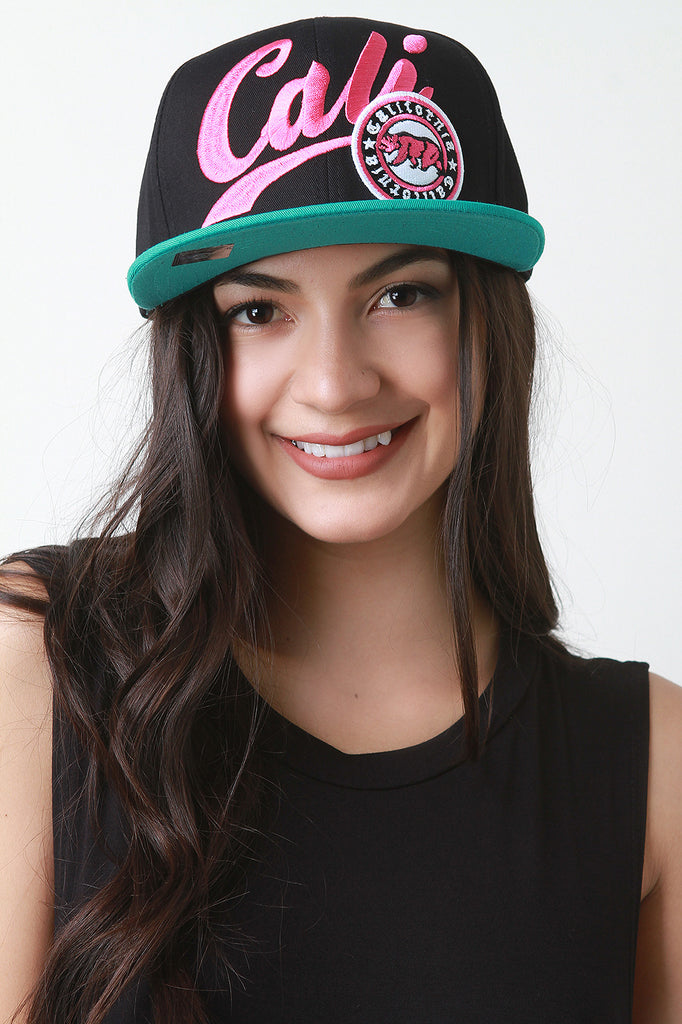 Cali Snapback Cap, Accessories, Hats - Avenue Of Angels