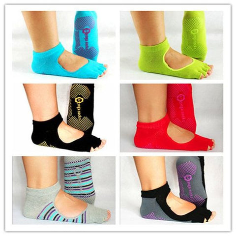 Yoga Socks with Anti-skid,  - Avenue Of Angels