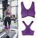 Sports Push Up Bra for women. Running, Gym, Yoga and Fitness Workout Tops. Seamless Bra Zipper with Stretch,  - Avenue Of Angels