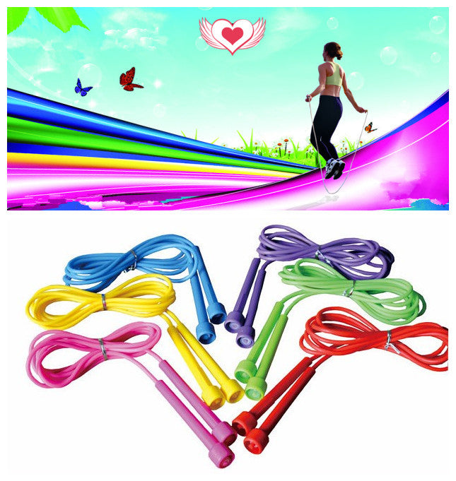 3M Pink Speed limit skipping jump rope exercise Fitness equipment,  - Avenue Of Angels