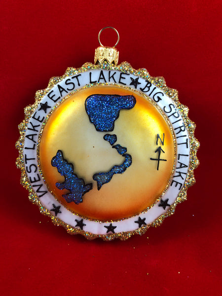Iowa Great Lakes Ornament