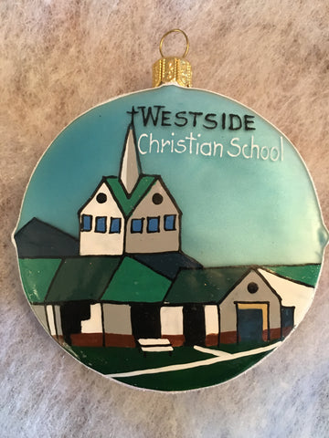 Westside Christian/St. Andrew Ornament - 2015
