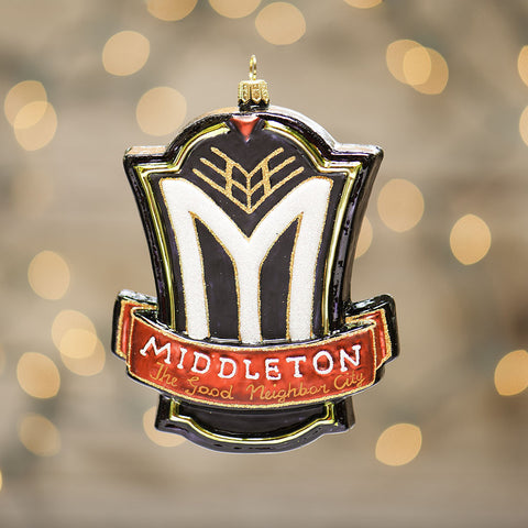 City of Middleton Emblem Ornament
