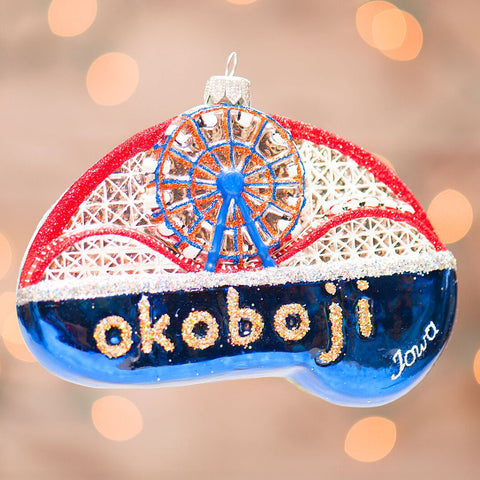 Okoboji Iowa Ornament