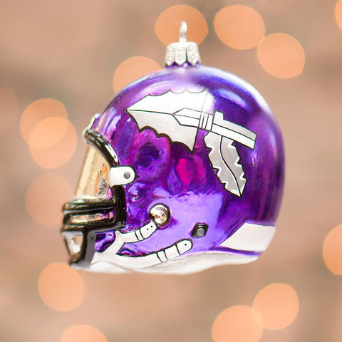 Waunakee Warriors Helmet Ornament