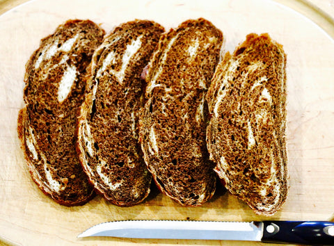 marbled rye bread for avocado toast