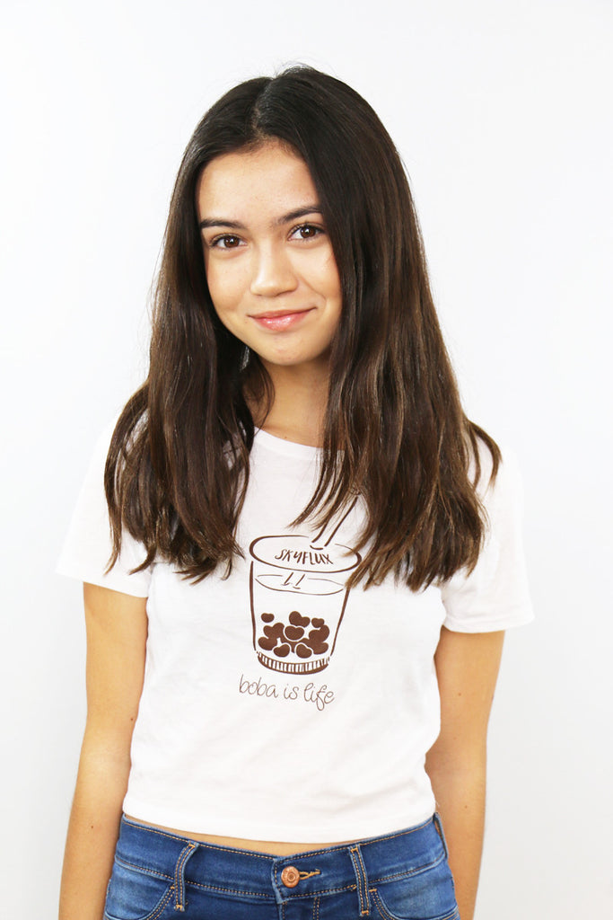 Boba Crop Tee - Limited Edition