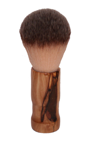 Handmade - Bethlehem Olive Wood - Shaving Brush