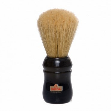 Omega - Boar Shaving Brush - Black - 10049B