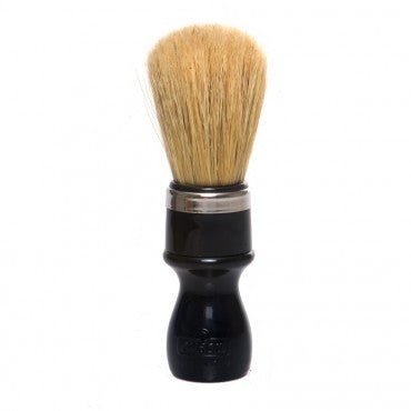 Omega - Boar Shaving Brush - Black - 10098