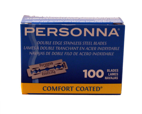 Personna - Lab Blue - Double Edge Razor Blades - 100 pack