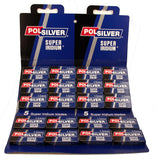Polsilver - Super Iridium - Double Edge Razor Blades - 100 pack