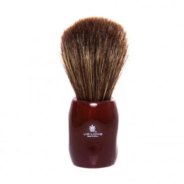 Vie-Long - Peleón Horse Hair Shaving Brush - Red - 12705