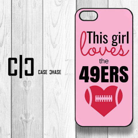 This Girl Loves the 49Ers - Pink