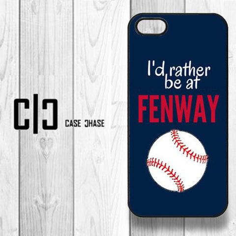 I'd Rather Be At Fenway