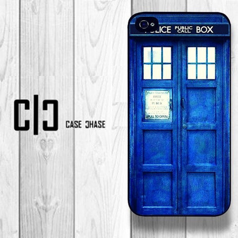 Blue Dr Who Phone Case