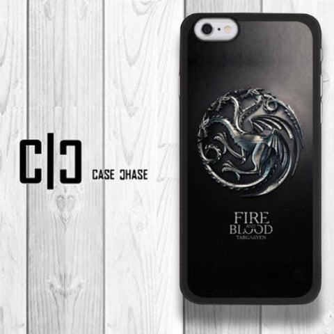Iphone Cases - Game Of Thrones - Targaryen Crest