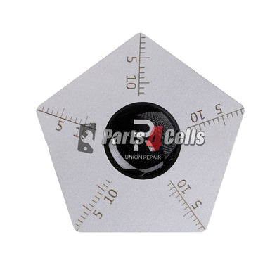 0.1mm Ultra Thin Stainless Steel Opening Tool with Scale Polygonal-Parts4sells