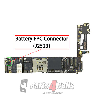 iPhone 6 Battery Connector Port Onboard (J2523)