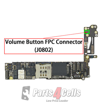 iPhone 6 Volume Button Connector Port Onboard (J0802)