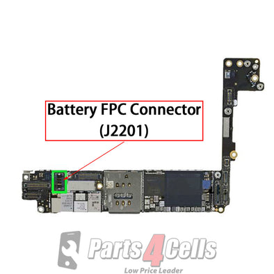iPhone 6 Plus / 7 / 7 Plus Battery Connector Port Onboard (J2201)