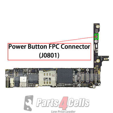 iPhone 6 Plus Power Button Connector Port Onboard (J0801)